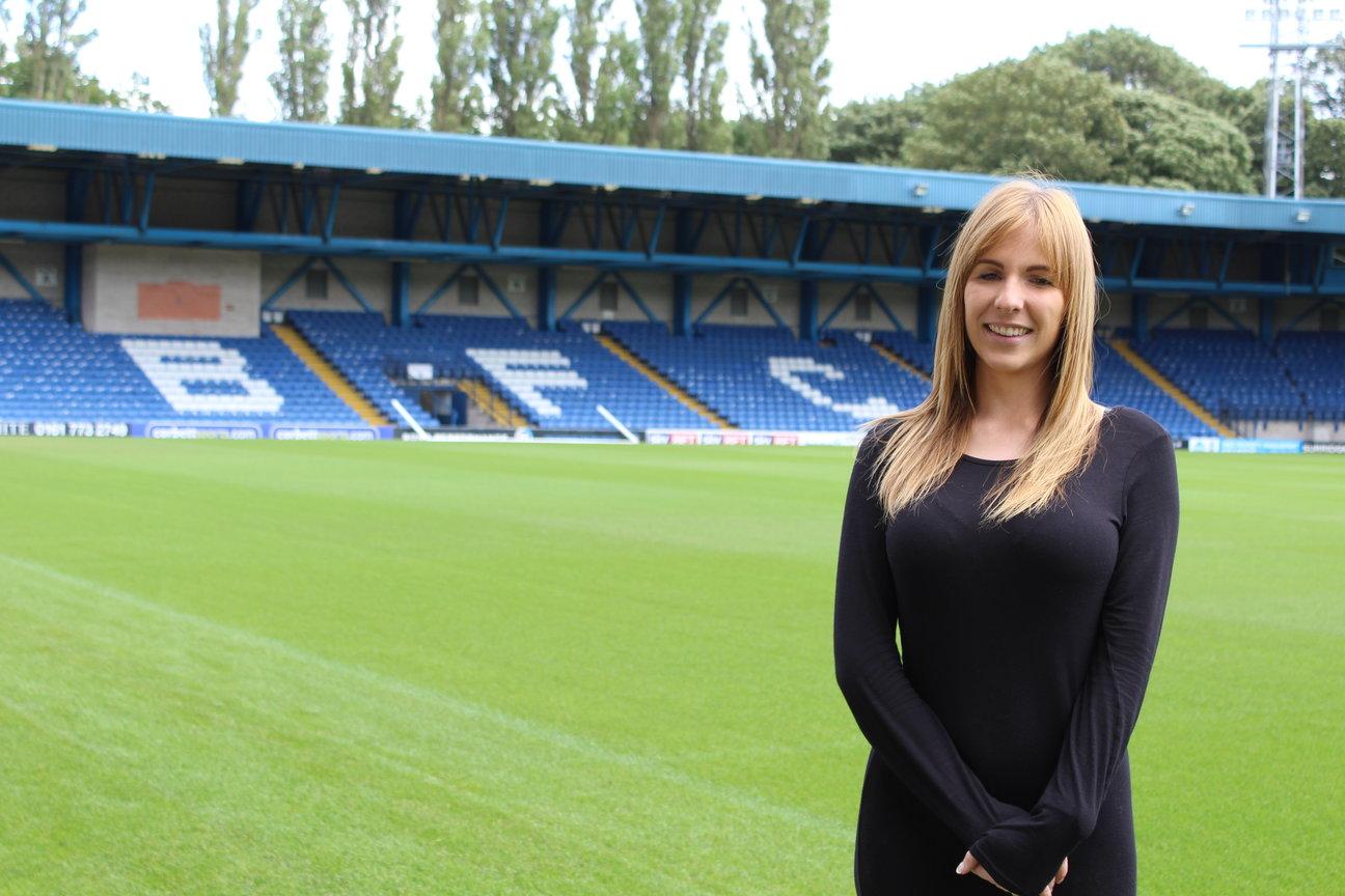 Gemma Goodall at Bury FC