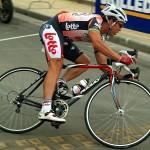 Australian cyclist Robbie McEwen, Photo by Gsl, 5 January 2007.