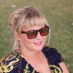 Alumni Lorna relaxing in the sun