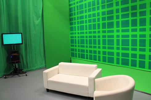 Green Screen at Media City UK