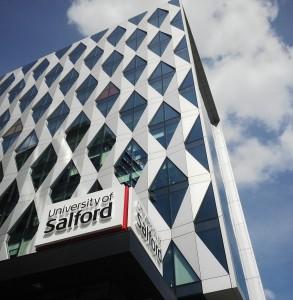 University of Salford Media City UK campus