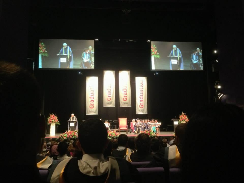 Salford Business School Graduation