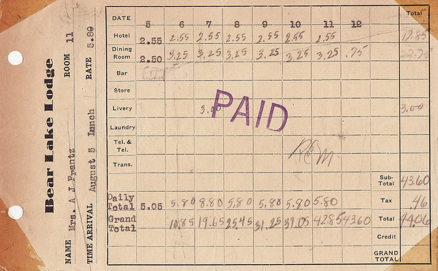 Paper Receipt (CC) by  Calsidyrose