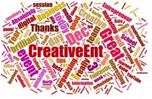 Feedback from Creative Entrepreneur 2014