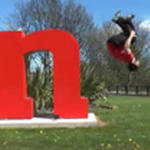Salford University Parkour -'Behind The Scenes' at Salford Business School
