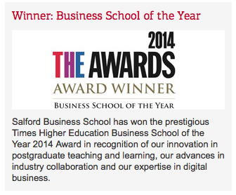 Business School of the year 2014
