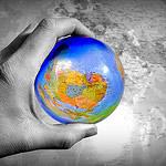 Globe (CC) by Judy van der Velden