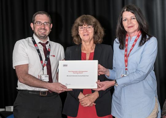 Chris Jones, Professor Helen Marhsall, Dr Marie Griffiths