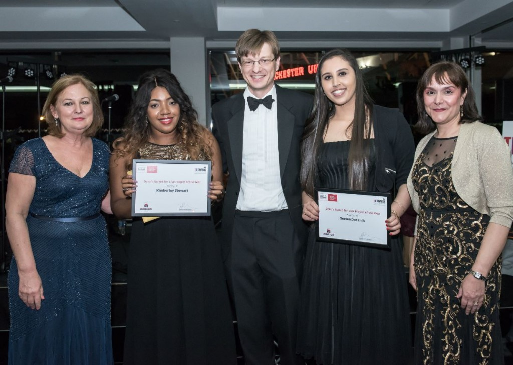 Salford Business School Live Project of the Year 2015