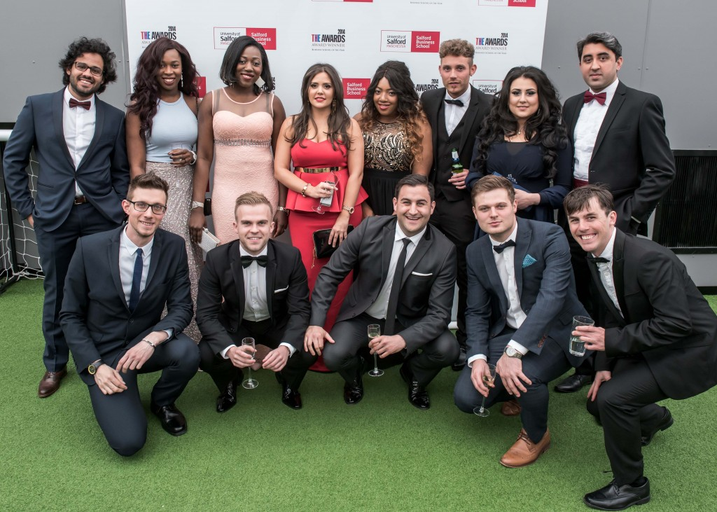 Salford Business School Awards and Ball - Class of 2015