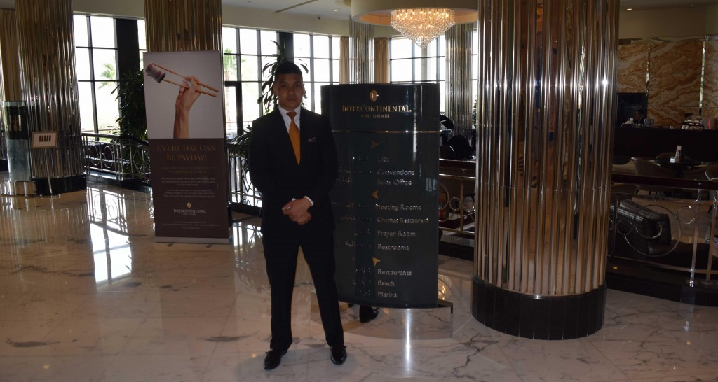 Salford MBA Trip - Intercontinental Hotel UAE