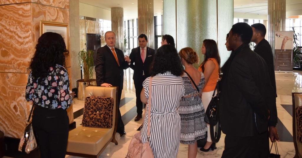Salford MBA Trip- Intercontinental Hotel UAE