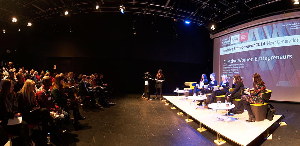 creative-entrepreneur panel discussion