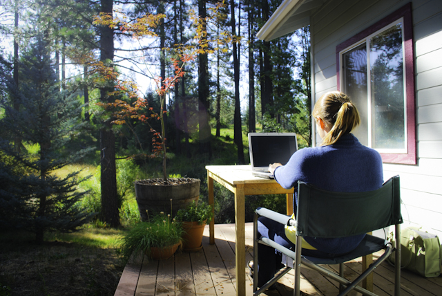 Remote working means No geographic constraints