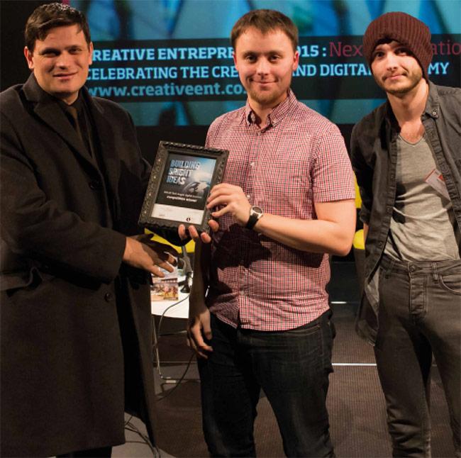 Tech Angels winners, Salford Business School