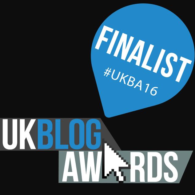 UK Blog awards 2016 finalists