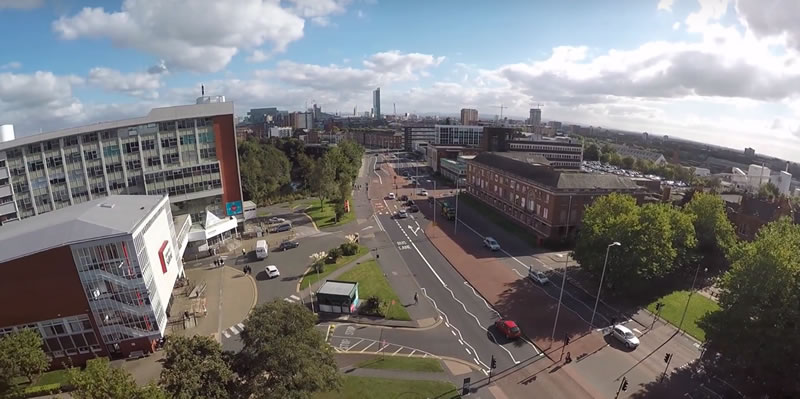 drone delivery in Salford?
