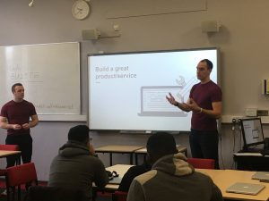 Apadmi discuss mobile application development for with our digital business students