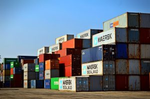 Supply chains were impacted by a shortage in shipping containers