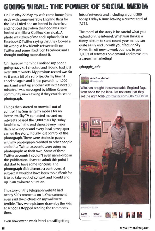 article about a tweet that went viral