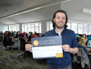 Majd Al-tujjar, Microsoft Office Specialist Master
