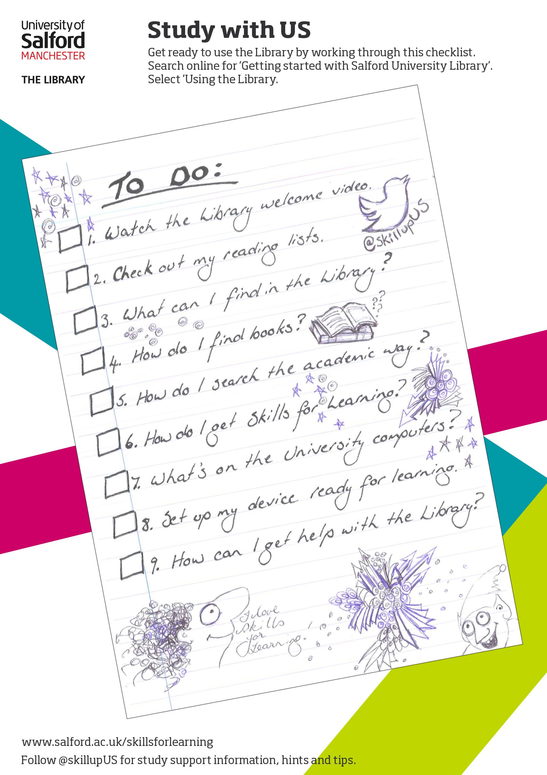 checklist to help you get set for study skills for learning blog checklist to help you get set for study