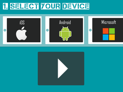set up your device for learning