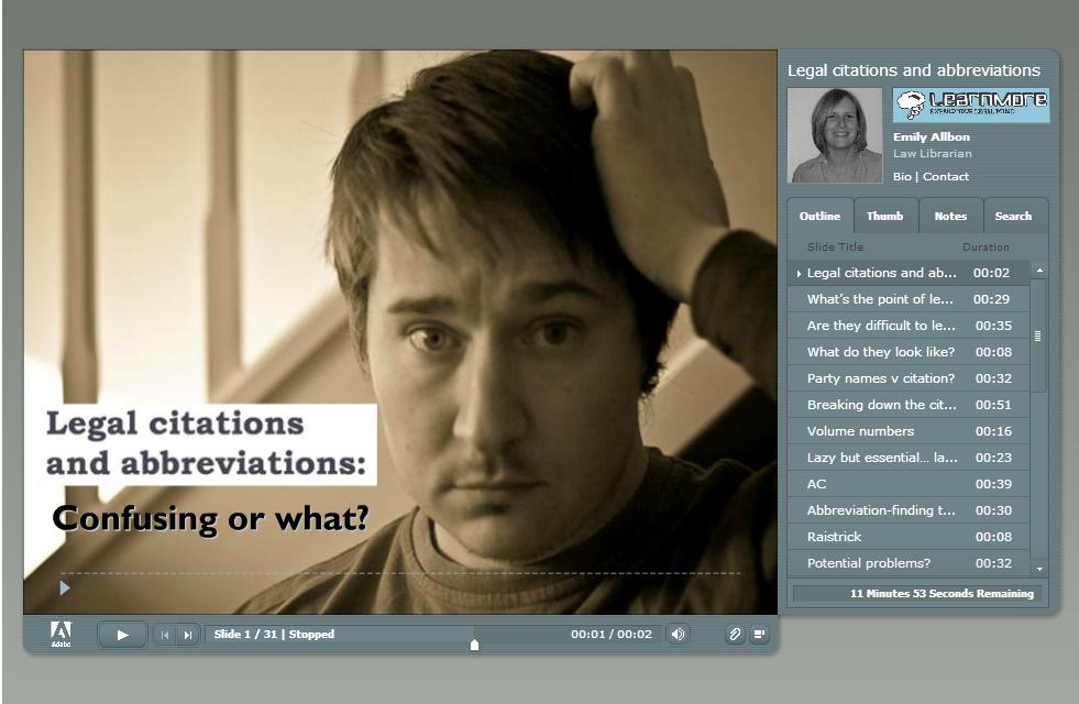 click image to access legal abbreviations tutorial