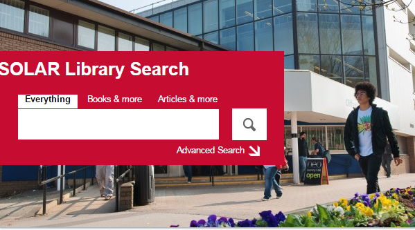 Click image to access Salford's Library Search and find Westlaw UK.
