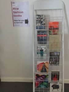 Fashion book display