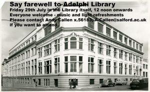 Adelphi Library farewell - flattened