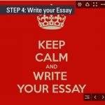 Step 4: Write your Essay