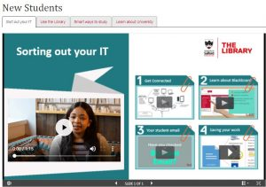 Image link to new student skills for learning tutorials