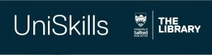Banner bar for UniSkills to highlight link to UniSkills specialist sources guide