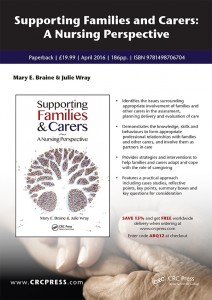 Supporting Families and Carers A Nursing Perspective 9781498706704