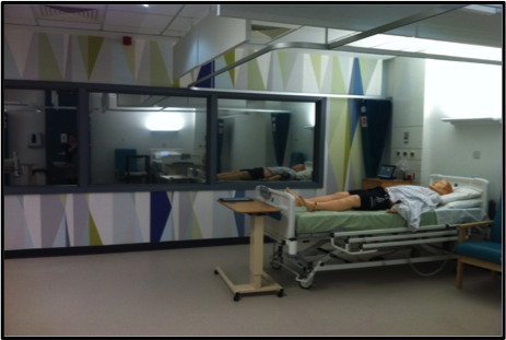 SimMan3G® getting ready for the #SalLeadEd students