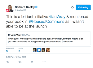 Barbara Keeley's tweet
