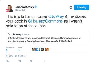 Barbara Keeley's tweet