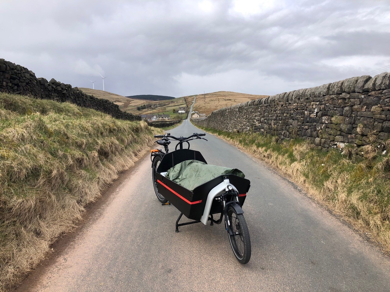 Delivering the last mile: scoping the potential for E-cargo bikes
