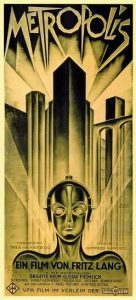 Original 1927 theatrical release poster for Metropolis