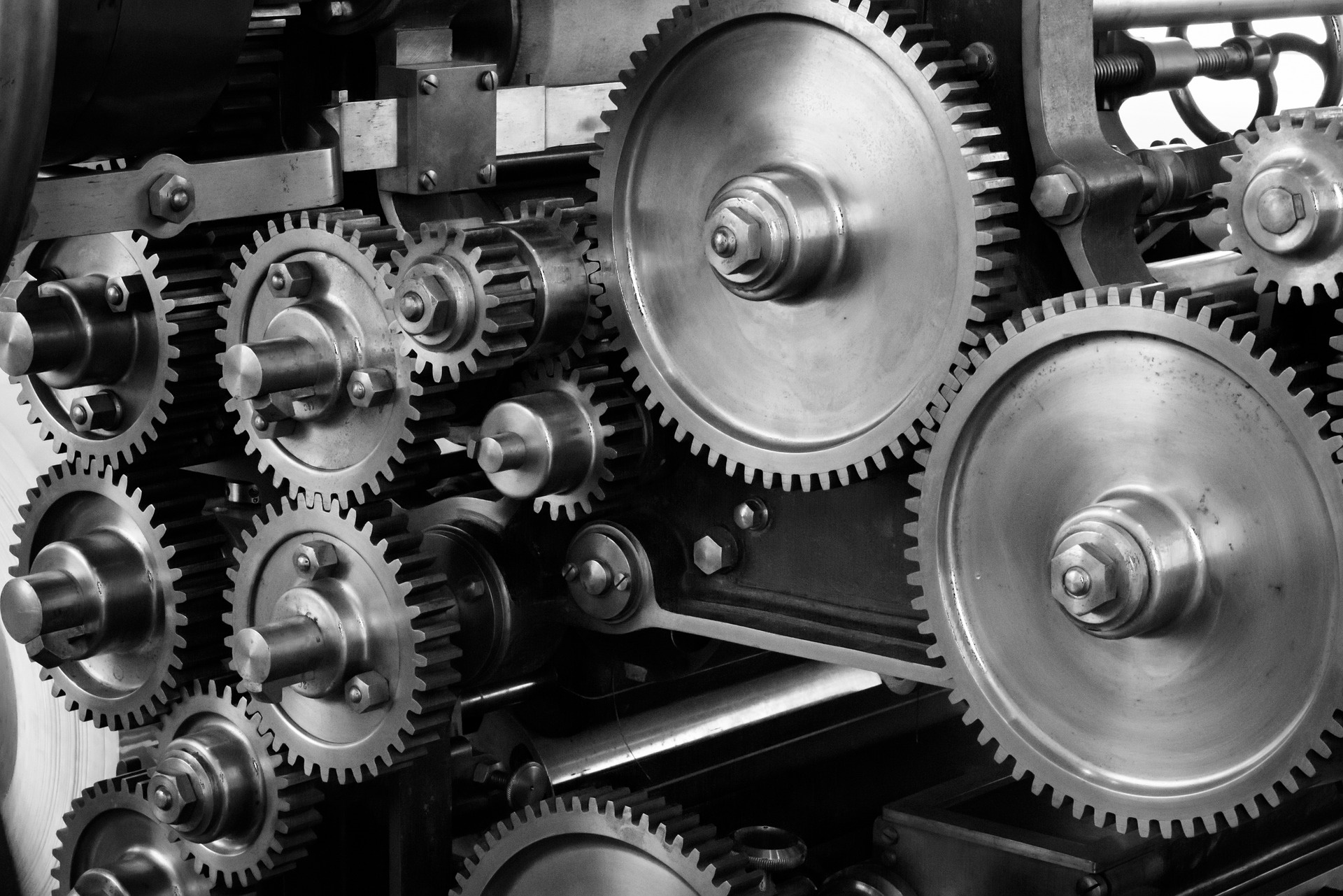 A picture of some cogs