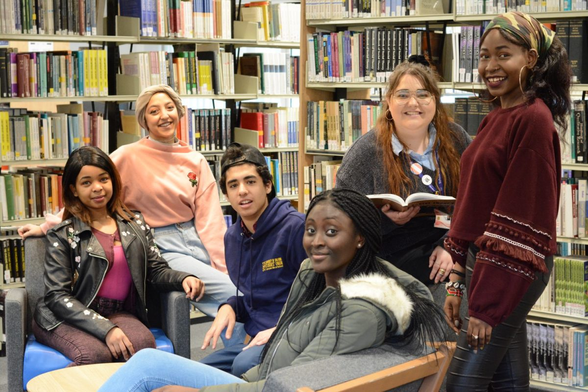 Library Champions in the Library