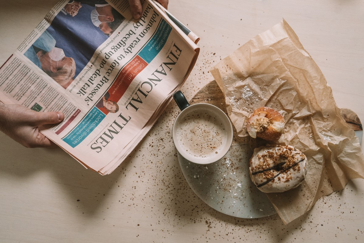 A breakfast with the Financial Times