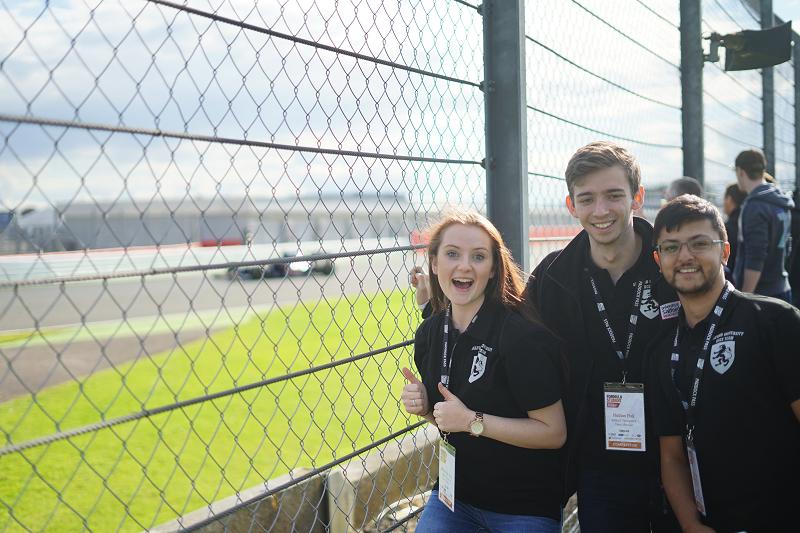 Image of the Formula Salford team