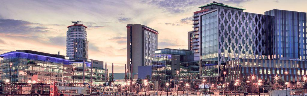 MediaCityUK skyline