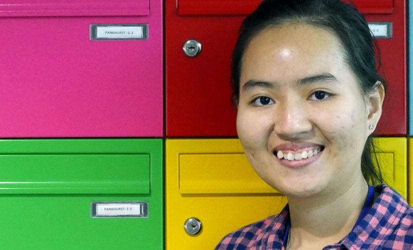 Image: Anh at Peel Park Quarter Halls of Residence