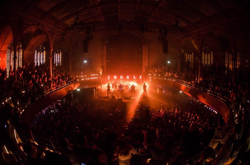 Image: Jungle performing at Albert Hall