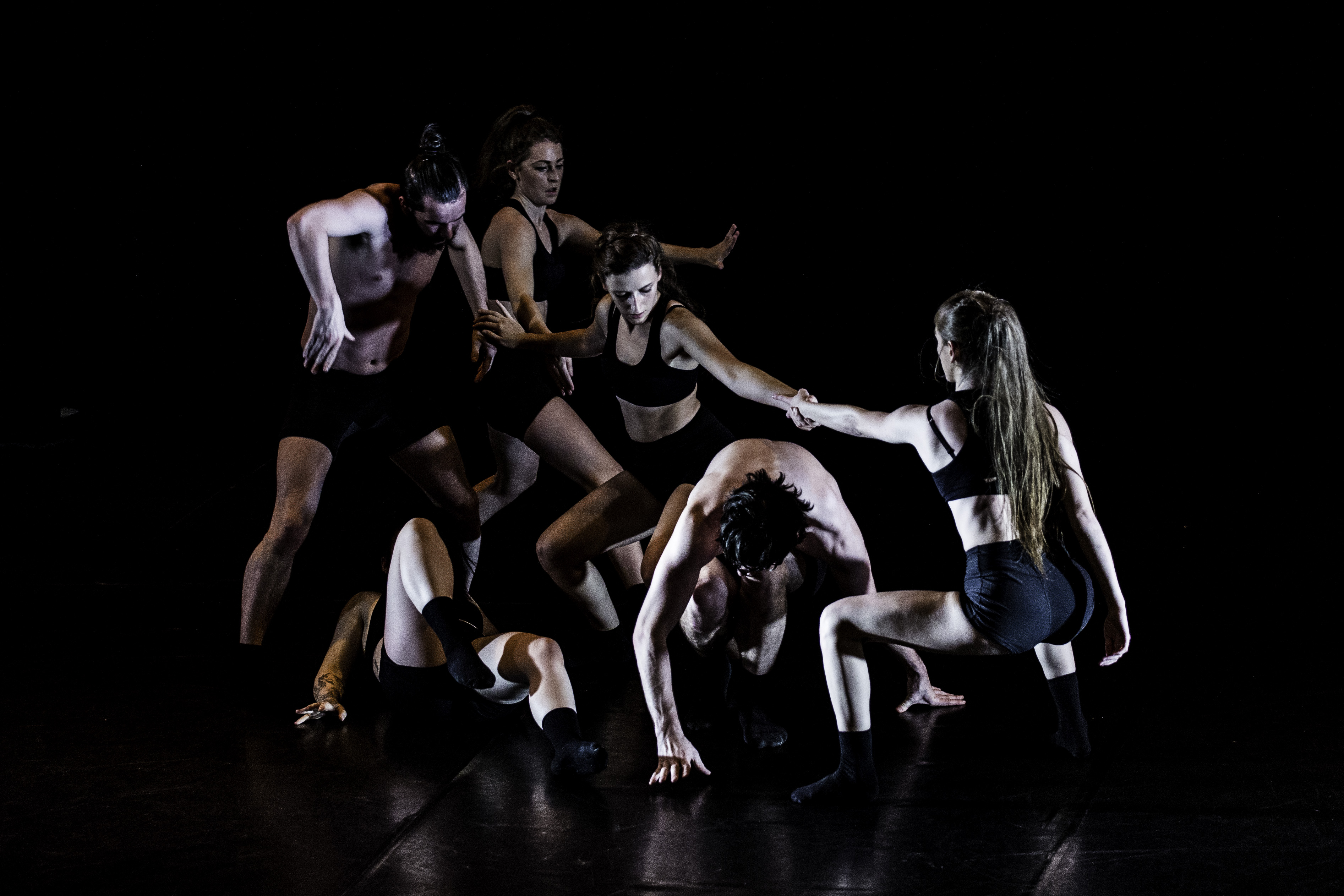 Dance performance Create Salford festival.