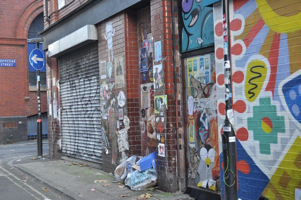 Colourful walls near Copperas Street