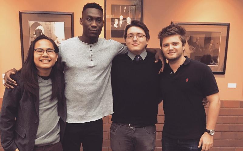 Emmanuel and friends